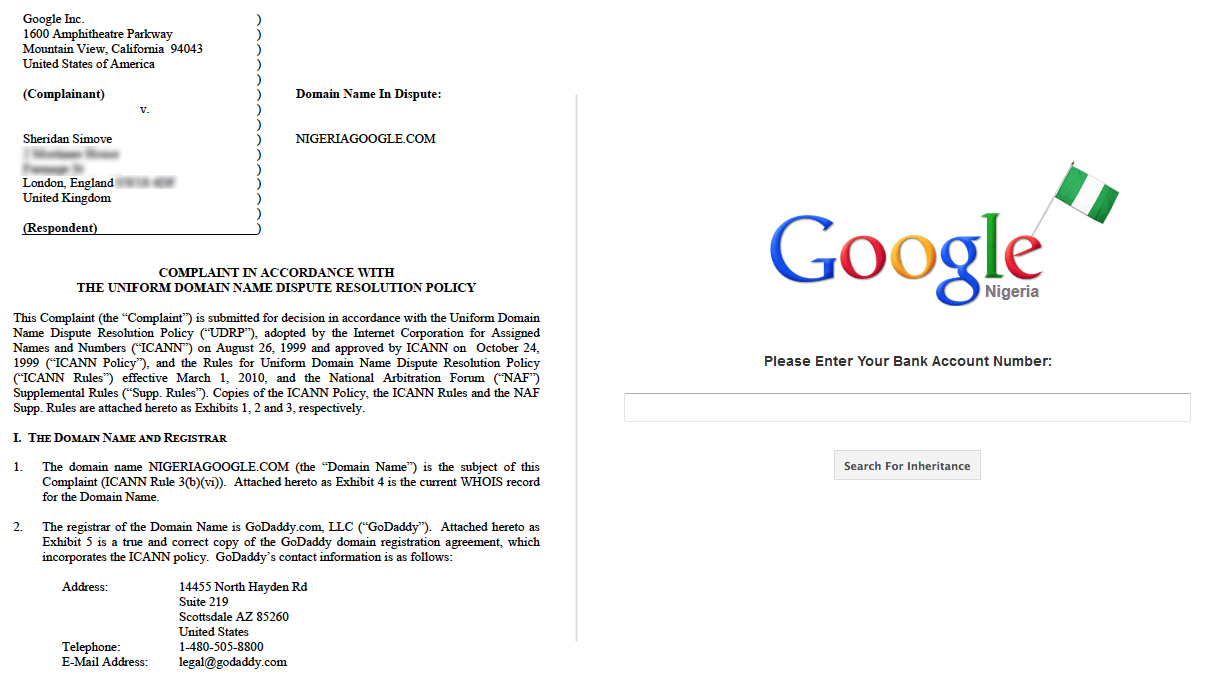 Google Vs Sheridan Simove Shedsimove Com